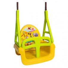 Gyerek hinta 3az1-ben TEGA Swing - Szafari sárga Előnézet