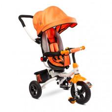 Toyz WROOM tricikli tolókarral - narancssárga
