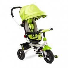 Toyz WROOM tricikli tolókarral - zöld