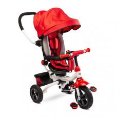 Toyz WROOM tricikli tolókarral - piros