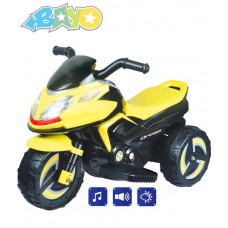 BAYO KICK elektromos gyerekmotor - Sárga Előnézet