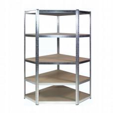 InGarden Sarok tároló polc  180 x 90 x 30 cm , 175kg – 5 polc Előnézet