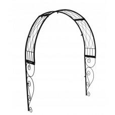 GARDEN LINE kerti fém boltív kapu fölé 110 x 21 x 106 cm Előnézet