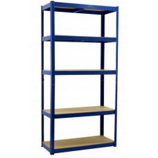 InGarden tároló polc 180 x 90 x 40 cm - kék Előnézet