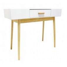 Skandináv stílusú 1 fiókos asztal 100x40x79 cm InGarden SCANDINAVIA  Előnézet
