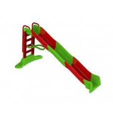 Vizes csúszda kapaszkodóval 400 cm Inlea4Fun - piros/zöld Előnézet