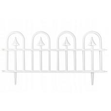 GARDEN LINE kerti műanyag kerítés szett 60 x 30,5 cm 4 db - fehér Előnézet