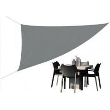 Háromszög alakú árnyékoló, napvitorla 3,6 x 3,6 x 3,6 m - szürke Előnézet