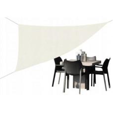 Háromszög alakú árnyékoló, napvitorla 3,6 x 3,6 x 3,6 m - Bézs Előnézet