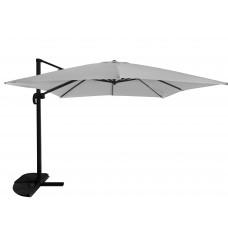 InGarden ROMA kerti napernyő 3x4 m védőtakaróval - Szürke Előnézet