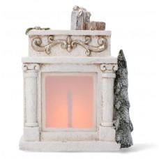 Inlea4Fun LED-es Karácsonyi kerámia kandalló 31 cm GOT7098 Előnézet
