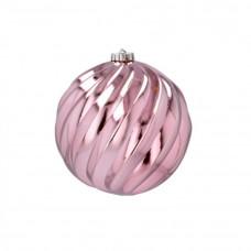 Karácsonyfa dísz 15 cm Inlea4Fun - Rózsaszín Előnézet