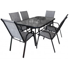 Kerti asztal székekkel GARDEN LINE Előnézet
