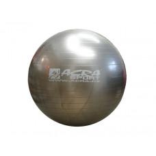 ACRA Gimnasztikai labda 65 cm - ezüst Előnézet