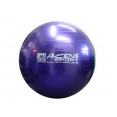 ACRA Gimnasztikai labda 55 cm - lila Előnézet