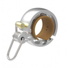 Kerékpár csengő Knog OI BELL LUXE ezüst - kicsi Előnézet