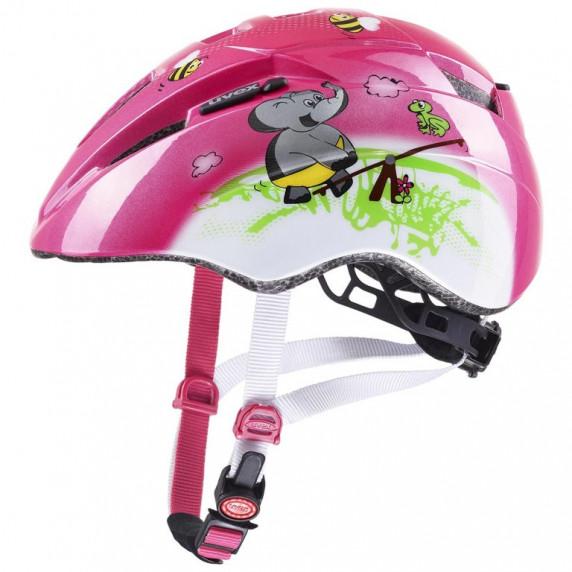 Gyerek sisak Uvex KID 2 CC - rózsaszín