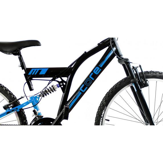 """Gyerek kerékpár Tought Core """"24"""" - fekete/kék"""