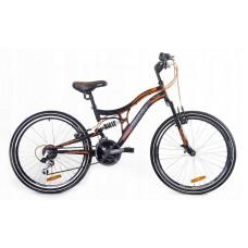 """Férfi kerékpár  RAYON Adventure  26"""" - fekete/narancssárga Előnézet"""