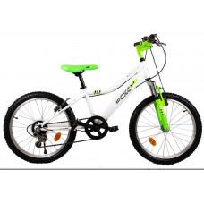 """Gyerek bicikli CXC Amor 20"""" - fehér/zöld Előnézet"""