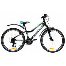 """Férfi kerékpár RAYON CASCADE 26"""" - zöld/kék Előnézet"""
