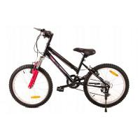 """FUNNY COUNTRY FXC Gyerek bicikli 20"""" - fekete/rózsaszín"""
