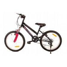 """FUNNY COUNTRY FXC Gyerek bicikli 20"""" - fekete/rózsaszín Előnézet"""