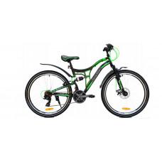 """Férfi kerékpár RAYON Adventure  26"""" - fekete/zöld Előnézet"""