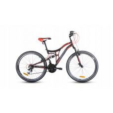 """Férfi kerékpár  RAYON Adventur  26"""" - fekete/piros Előnézet"""