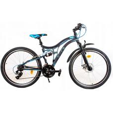 AMTRAK MTB hegyi kerékpár 26' - Kék Előnézet