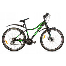 """Női kerékpár RAYON Vanity  26"""" - fekete/zöld Előnézet"""