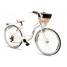 """Női kerékpár ALICE 28"""" - fehér Előnézet"""