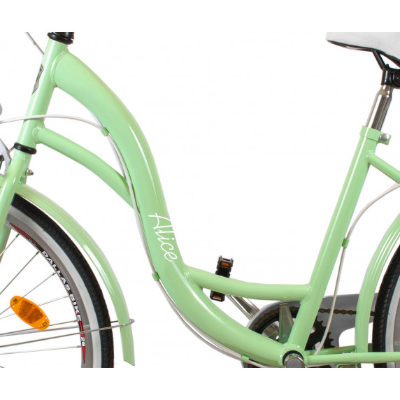 """Női kerékpár ALICE  28"""" - pisztácia"""