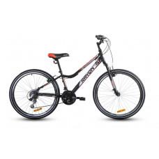 """Férfi kerékpár RAYON CASCADE 26"""" - fekete/fehér/piros Előnézet"""
