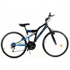 """GOETZE CORE férfi kerékpár 26"""" - fekete/kék Előnézet"""