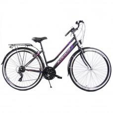 """KANDS Galileo Lady női kerékpár 28"""" - fekete/lila Előnézet"""