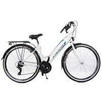 """KANDS Galileo Lady női kerékpár 28"""" - fehér kék"""