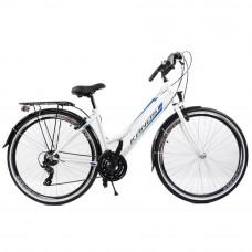 """KANDS Galileo Lady női kerékpár 28"""" - fehér kék Előnézet"""