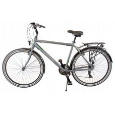 """KANDS Navigator-X Férfi trekking kerékpár ALU 28"""" váz 19"""" - szürke/zöld matt Előnézet"""