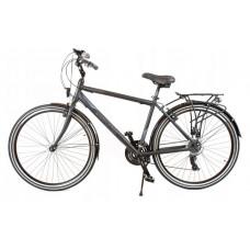 """KANDS Navigator-X Férfi trekking kerékpár ALU 28"""" váz 19"""" - fekete/kék matt Előnézet"""