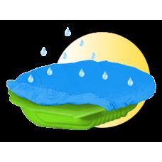 Inlea4Fun Nagy Kagyló homokozó takaróval - zöld Előnézet
