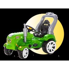 Inlea4Fun Big Farmer pedálos traktor - Zöld