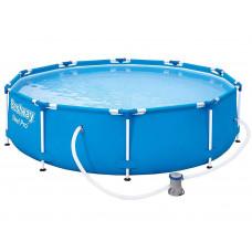BESTWAY 56679 Steel Pro 305x76 cm medence vízforgatóval  Előnézet