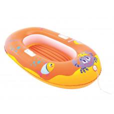BESTWAY 34009 Tengeri világ felfújható gumicsónak - Narancssárga Előnézet