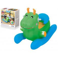 BESTWAY 52220 Állatkás baby hintaszék Dino - Zöld Előnézet