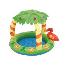 BESTWAY 52179 Dzsungel bébi játszómedence napellenzővel  Előnézet