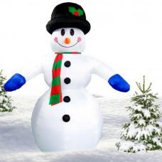 Inlea4Fun felfújható hóember - 350 cm Előnézet