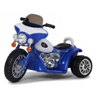 Elektromos kismotor Chopper PA0116 - Kék