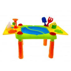 Vizes homokozó asztal Inlea4Fun SAND AND WATER PLAY Table  Előnézet
