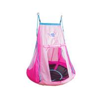 Hudora 72153 Fészekhinta 110 cm sátorral - Rózsaszín